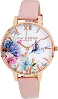 Olivia Burton Painterly Prints Quartz Movement Multi-Color Dial Ladies Watch OB16PP44