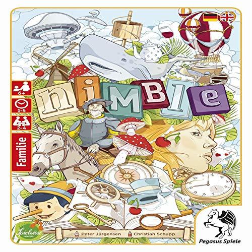SD Games- Nimble, Multicolor (SDGNIMBLE01)