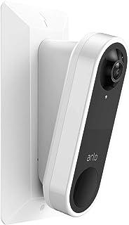 Koroao 15°downward Angle mount for Arlo Video Doorbell, Wall Plate + 15° downward Wedge for Arlo Video Doorbell - Plastic ...