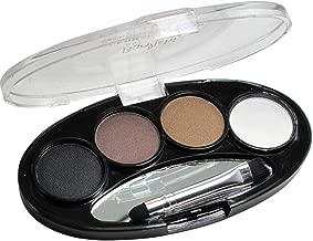 Baolishi 4 Color Natural Long-Lasting Waterproof Eyebrow Power Brown Black Eyes Shaper Cosmetic Makeup Tool 3 cor