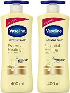Vaseline Body Lotion Essential Healing, 2 x 400 ml
