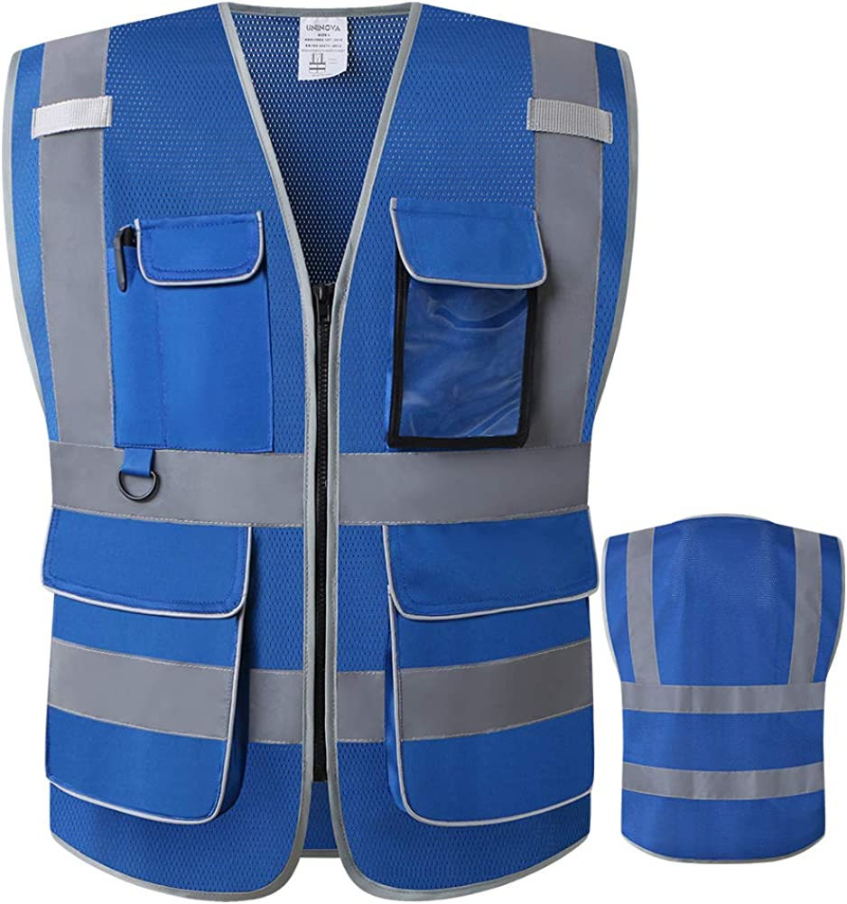 LOHASWORK Reflective Safety Vest for San Francisco Max 83% OFF Mall ANSI Men 2 Class