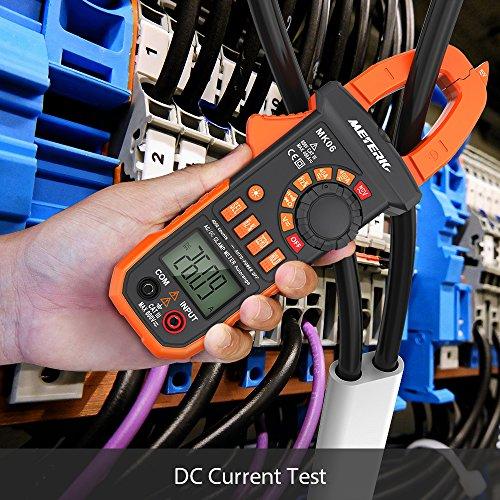 Pinza Digital Multímetro ,Meterk Medida Amperímetro Ohmímetro con Corriente y...