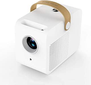 "Mini Portable Projector Support 1080P Full HD,4000 Lumen Projector,±30° Electronic Keystone Correction,90"" Display,Compati..."
