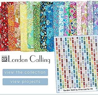 London Calling Robert Kaufman Cotton Lawn Japanese Fabrics ~ 18 Fat Quarters ~ 4.5 Yards Total