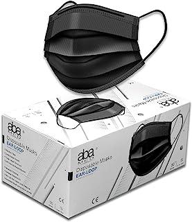 aba Cubrebocas Termosellados de 3 Capas   Calidad Premium Caja 50 Piezas   by aba Products