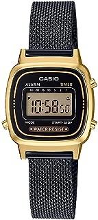 Casio Women's Dial Stainless Steel Band Watch - LA670WEM-7EF