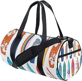 Gym Duffel Bag Surf Board Training Duffle Bag BaLin Round Travel Sport Bags for Men Women