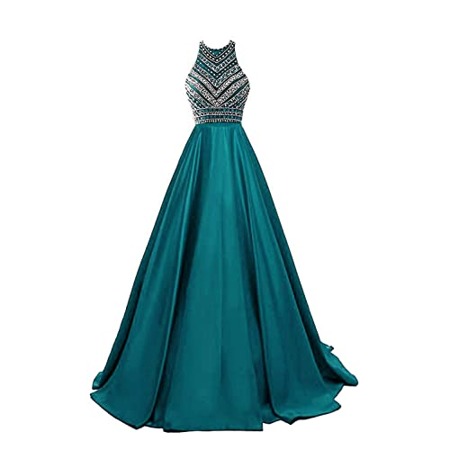 Teal Evening Gowns for Juniors Formal