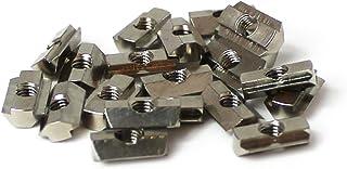Steel AMF J.W Winco A80002 DIN508 T-Slot Nut M5 x 6 mm