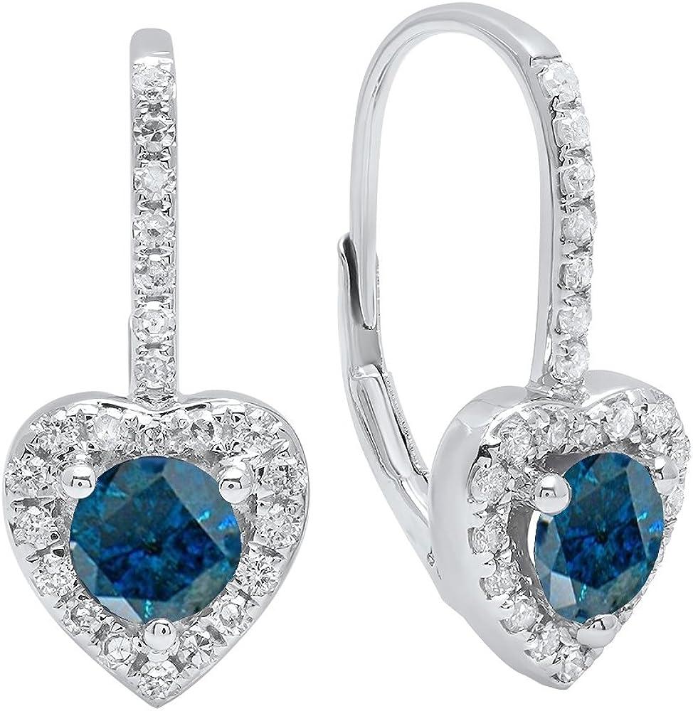 Dazzlingrock Genuine Free Shipping Collection 14K Each 5 MM Round White discount Gemstone Dia