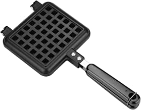 Non-Stick Double-side Waffle Baking Mold Pan Household Gas Aluminum Alloy Waffle Cone Maker Waffle Press Plate Cooking Baking Tool