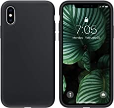 OUXUL Case for iPhone X/iPhone Xs Case Liquid Silicone Gel Rubber Phone Case,iPhone X/iPhone Xs 5.8 Inch Full Body Slim So...