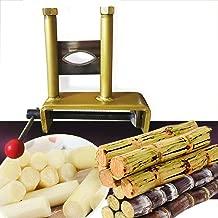 Manual Sugarcane Peeler Mini Sugar Cane High Speed Peeling Machine Sugarcane Peeling Tool Fast Clean 10630mm (USA Stock)