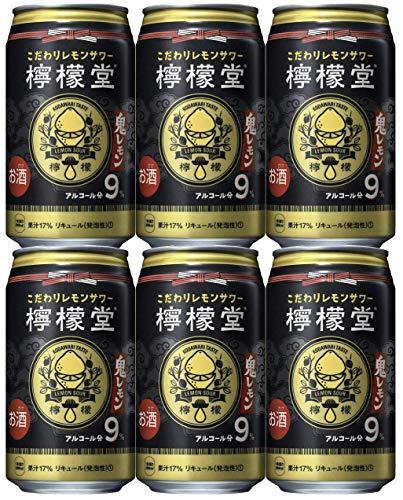 コカコーラ こだわりレモンサワー 檸檬堂 鬼レモン 350ml×6本