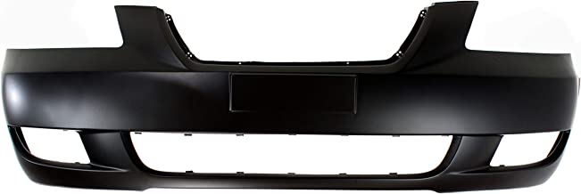 Front Bumper Cover for HYUNDAI SONATA 2006-2008 Smooth Primed with Fog Light Holes