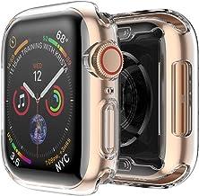 FINTIE Custodia per Apple Watch Series 4 - [2 Pezzi] Ultra Sottile Custodia Rigida Protettiva Case Cover (40mm), Trasparente
