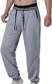 Haoricu-Mens Men Sweatpants Outdoor Pants Sweatpants Jogger Trousers Plus Size