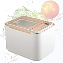Fruit and Vegetable Cleaner Timing Function, Ultrasonic Cleaning Machine Panoramic Skylight 12L Large Capacity, Ultrasonic...