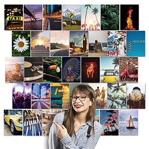 Fotos Pared Decoracion Aesthetic - 100 fotos para decorar tu hogar habitación paredes dormitorio, oficina juvenil - Imágenes decorativas vinilos de pared viaje travel paisajes - Estilo tumblr estético