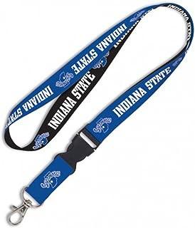 WinCraft NCAA Indiana State University 14591115 Lanyard with Detachable Buckle, 1