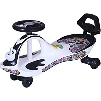 Webby Free Wheel Panda Magic Car Toy with Back Rest for Kids