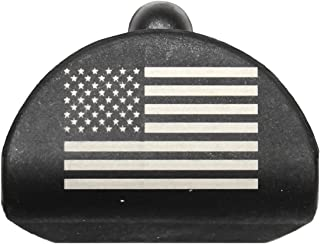 Sure Plug 1 US Flag - Gen 1-3 Grip Plug fits Medium & Large Frame fits Glock 17, 19, 22, 23, 31, 32, 34, and 35.