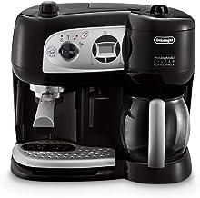 De'Longhi BCO264.1 Espressomaschine und Kaffeemaschine in einem, mit Pumpe, Schwarz,..