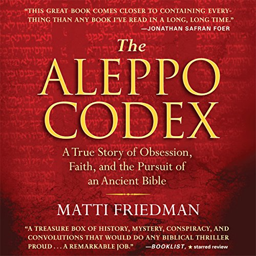 The Aleppo Codex audiobook cover art