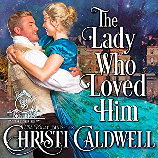 The Lady Who Loved Him audiobook cover art