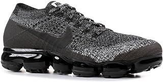3e44598276252 Nike Men s AIR Vapormax Flyknit Oreo Running Shoes Black