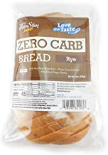 ThinSlim Foods 50 Calorie, 1g Net Carb, Love-The-Taste Low Carb Bread Rye