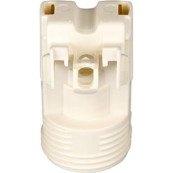 E14 Lampenfassung Kunststoff Sockel mit 4,2 mm Schraubenloch Schwarz Gewindefassung mit Halterung PBT