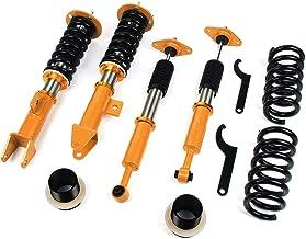 LODSHOCK Coilover Struts Spring Shocks Adjustable Coilovers Suspension coilover springs Absorber Coil Spring Shocks and Struts Full Set Kits FIT FOR Toyota Corolla//Matrix 03-08