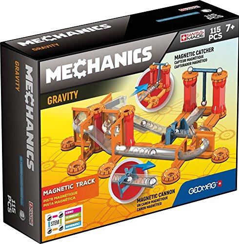 Geomag- Mechanics Gravity Track Sistema di Costruzione Magnetico, 7 Anni+, Multicolore, 115 Pezzi, 772