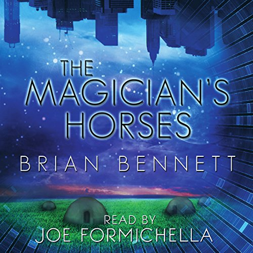The Magician's Horses audiobook cover art