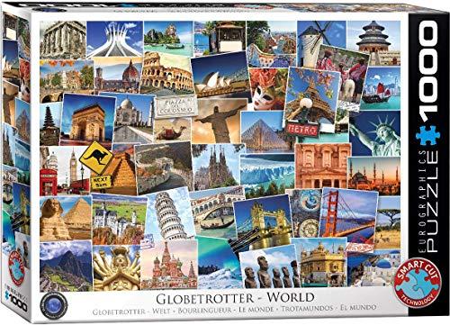 EuroGraphics Puzzle Globetrotter Welt