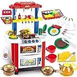 deAO Cocina de Juguete Happy Little Chef Cocinita con...