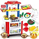 deAO Cocina de Juguete Happy Little Chef Cocinita con Luces, Sonidos,...