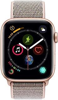 Apple Watch Series 4-40mm Gold Aluminum Case with Pink Sand Sport Loop, GPS, watchOS 5