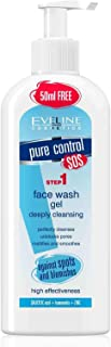 Eveline Cosmetics Pure Control Fash Wash Gel Deeply Cleansing, 200 ml