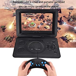 Fishlor DVD Player, 13.9inch HD TV Portable DVD Player USB TV Player Game Radio Receiver 800480 Resolution 16:9 LCD Screen...