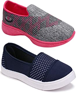 Axter Women Multicolour Latest Collection Sneakers Shoes- Pack of 2 (Combo-(2)-11031-1152)