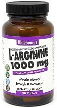 Bluebonnet L-Arginine 1000 mg Capsules, 90 Count