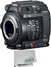 Canon EOS C200B Cinema Camera (Body Only) (EF-Mount) with Microfiber Cleaning Cloth - International Version (No Warranty)