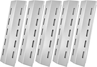 Hongso Heat Tent Plate Shield Replacement for Ducane 30400042, 30400043 Gas Grill, 16 7/8 Inch Stainless Steel Flavorizer Bar Burner Cover 30500701 30500097 (5-pack)