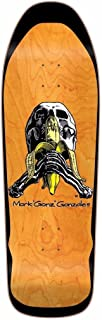 Blind Mark Gonz Gonzales Skull And Banana Screenprinted Skateboard Deck Orange Stain