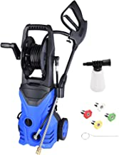 Yescom 2030PSI 1.8GPM Electric Power Pressure Washer with 4 Nozzles Detergent Tank Hose Reel
