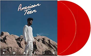 American Teen - Exclusive Limited Edition Translucent Red 2XLP Vinyl (#/15000 [VG+/NM- CONDITION]