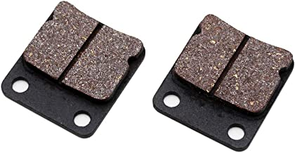 Rear Disc Brake Shoes Pads, PRO BAT, ATV Go Kart Disc Brake Pad shoes fit ATV Quad Dirt Pit Bike Go Kart Dune Buggy 50cc 70cc 110cc, Black